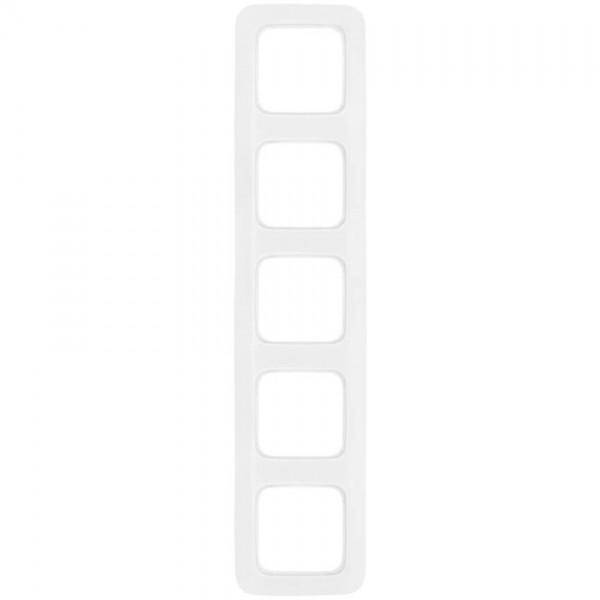 BUSCH-JAEGER® -REFLEX SI® - 5-fach Abdeckrahmen, alpinweiß