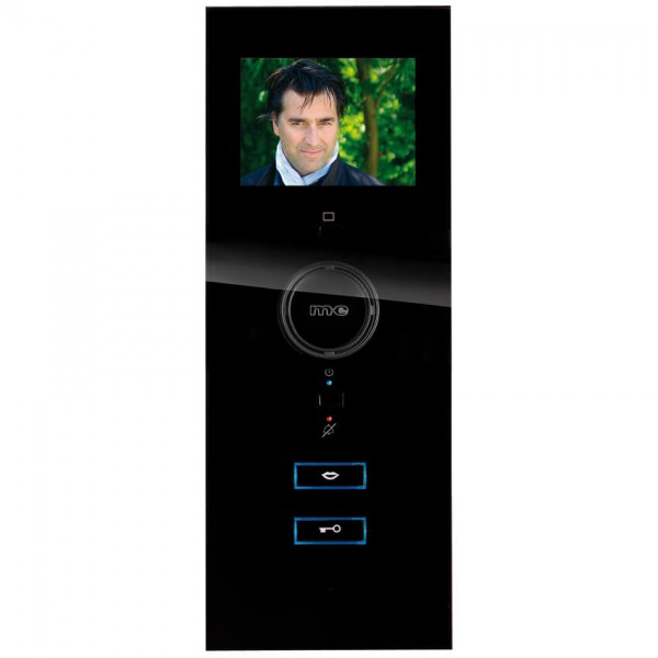 AP Video Hausstation, schwarz, Freisprechanlage