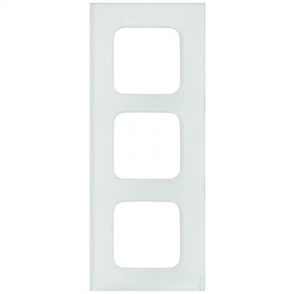 KLEIN®-SI - Abdeckrahmen Glas 3-fach weiß
