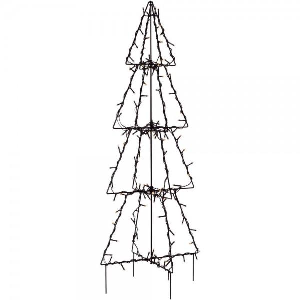 LED-Leuchter, FOLDY Tannenbaum, H 90cm, Ø 40cm, 140 LEDs