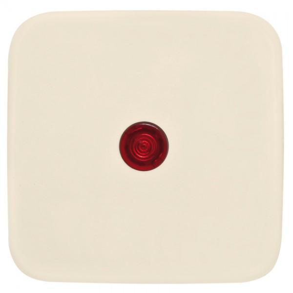 KLEIN®-SI - Einzelwippe mit rotem Kontrollsymbol cremeweiß