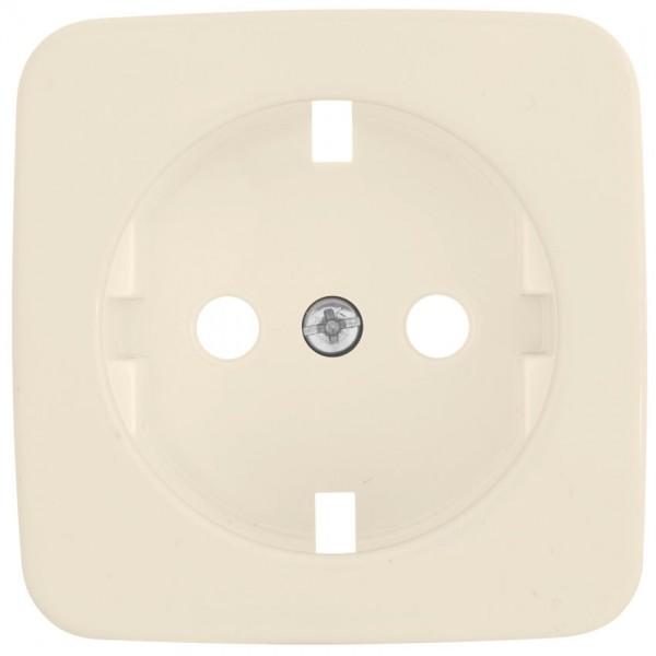 KLEIN®-SI - Ersatzplatte für Kombi-Steckdose cremeweiß