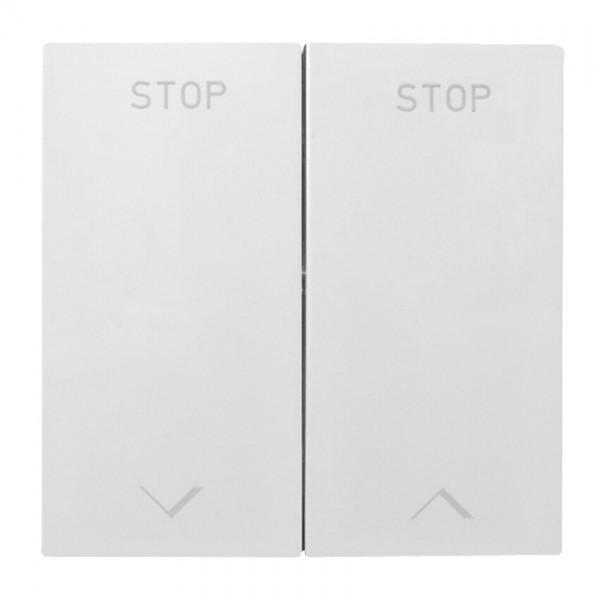 EFAPEL® - Wippe, für Jalousie-Schalter, LOGUS 90, signalweiß