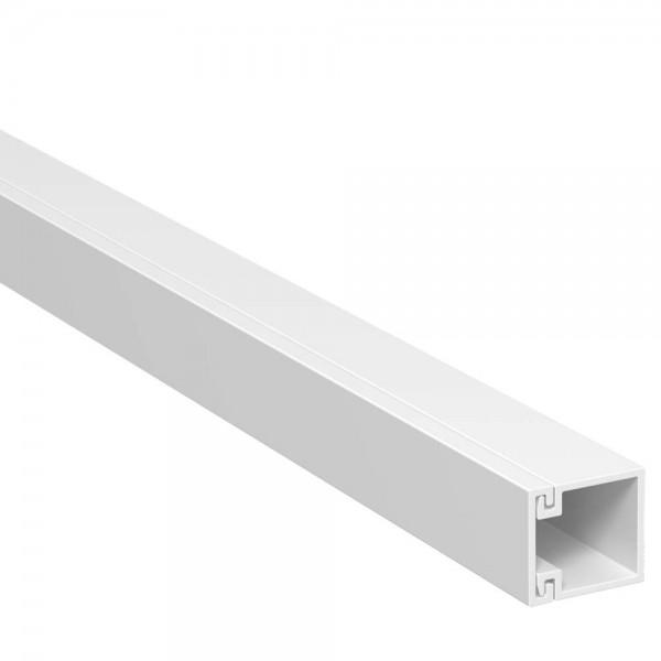 OBO® - 56m, Wand- und Deckenkanal, 15x15mm, WDK, reinweiß (RAL9010), Länge 2 m-WDK 15015RW