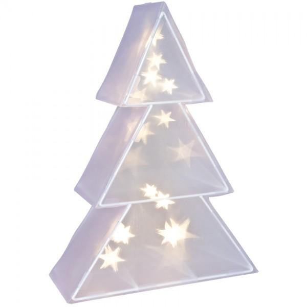LED-Tannenbaum, 20 warmweiße LEDs, batteriebetrieben