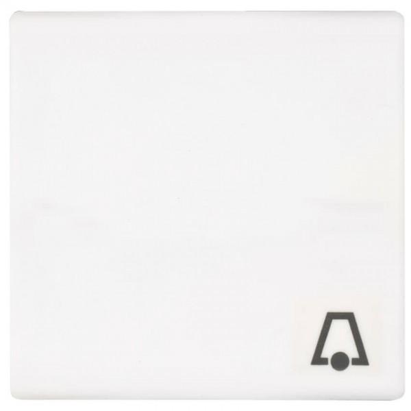"""JUNG® - AS - Wippe, für Taster mit Symbol: """"Klingel"""", alpinweiß glänzend"""