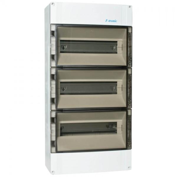 AP-Verteilerkasten IP 65 3-reihig für 42 Module