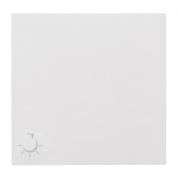 """EFAPEL® - Wippe mit Symbol """"Licht"""", für Taster, LOGUS 90, signalweiß"""