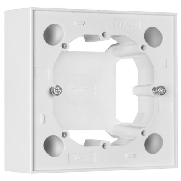 EFAPEL® - 1-fach Aufputzgehäuse, für Schalter, Steckdosen und Geräte