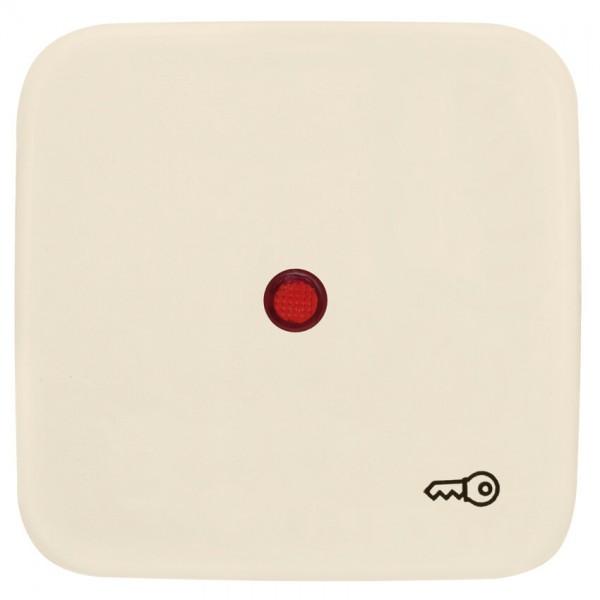 KLEIN®-SI - Einzelwippe cremeweiß Symbol Schlüssel