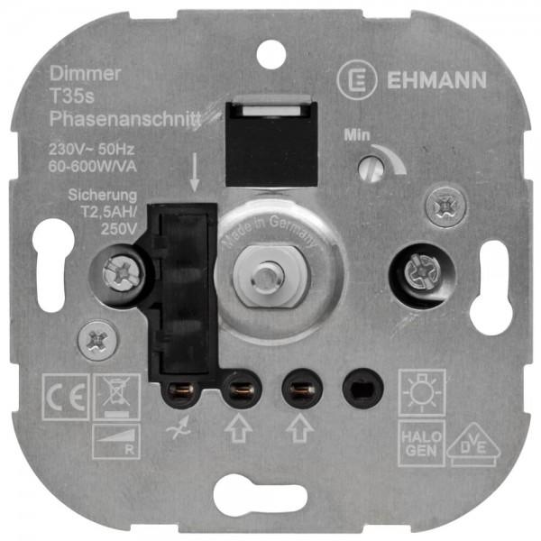 Dimmer-Einsatz UP Druck-Wechselschalter AGL 60-600W