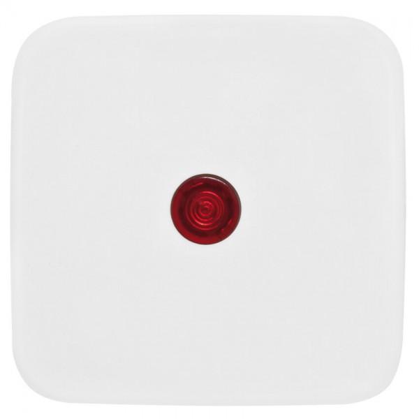 KLEIN®-SI - Einzelwippe mit rotem Kontrollsymbol reinweiß