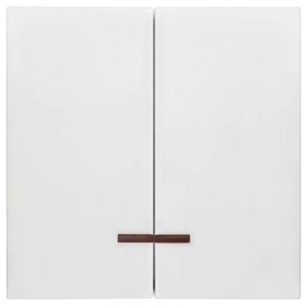 Panasonic® - Wippe, für Kontroll-Serien-Schalter, mit roter Kalotte, MERIDIAN, reinweiß