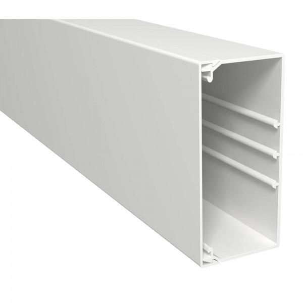 OBO® - 16m, Wand- und Deckenkanal, 60x130mm, WDK, reinweiß (RAL9010), Länge 2 m-WDK 60130RW