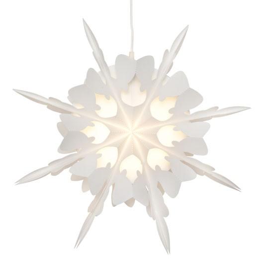 Weihnachtsstern, NATURE, 1 x E14/9W-ESL, Ø 40cm, T 18cm