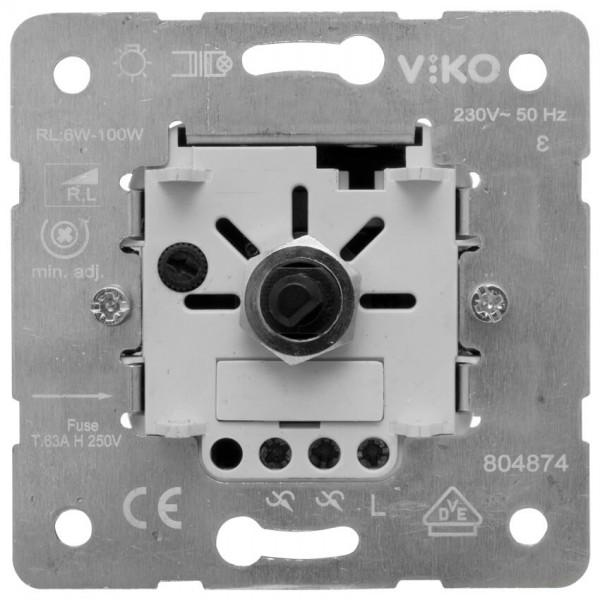 Panasonic® - UP-Einsatz - Druck-/Wechsel-Dimmereinsatz, 6-100W/VA