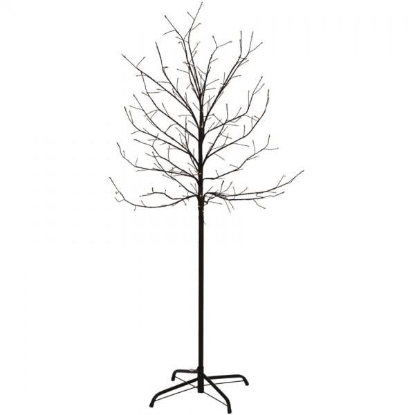 LED-Baum, H 150cm, Ø 70cm, 200 warmweiße LEDs