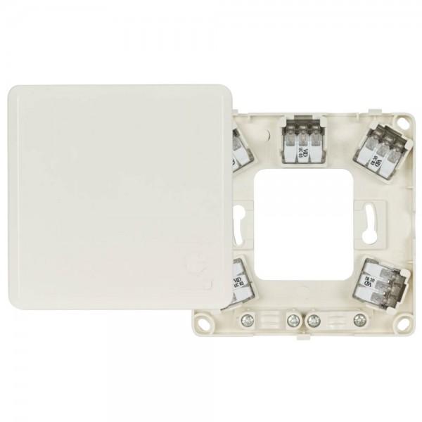 KLEIN® - Auf- oder Unterputz Herdanschlussdose Gerätedose 5 x 4,0mm², H 23, weiß AP/UP