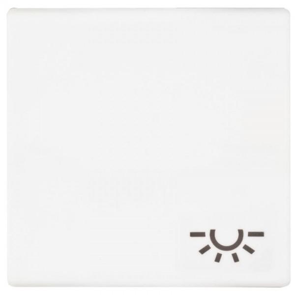 """JUNG® - AS - Wippe, für Taster mit Symbol: """"Licht"""", alpinweiß glänzend"""