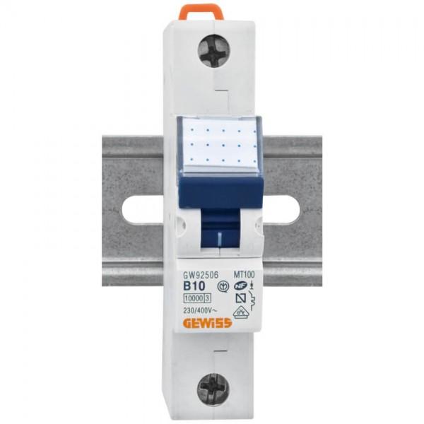 Leitungsschutzschalter B-Charakteristik 1-pol. 10A Nennstrom