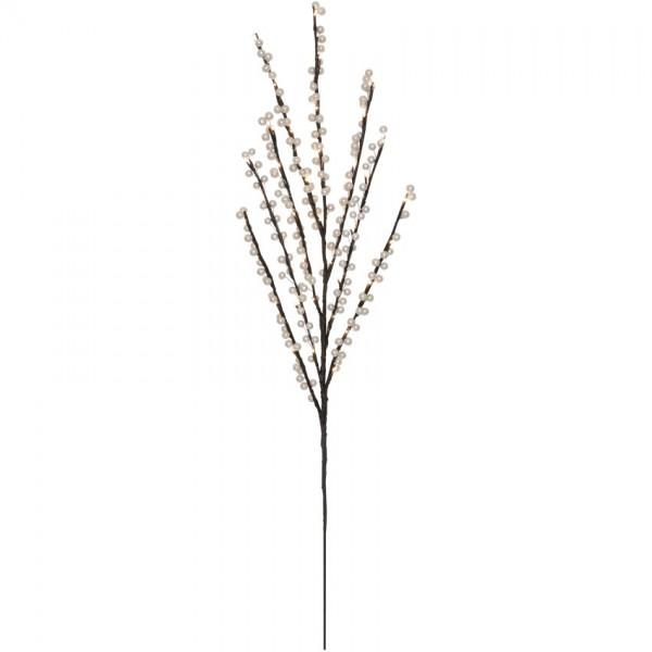 LED-Zweig, weiß, 40 warmweiße LEDs, H 110cm