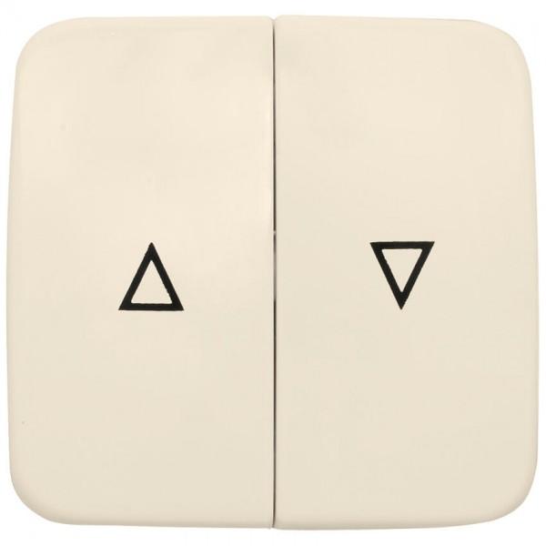 KLEIN®-SI - Doppelwippe cremeweiß für Jalousie-Schalter (Taster)