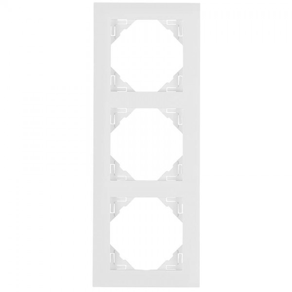 EFAPEL® - 3-fach Abdeckrahmen, LOGUS 90, signalweiß