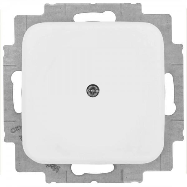 BUSCH-JAEGER® -REFLEX SI® - Kombi-Blindabdeckung ohne Leitungsauslass, alpinweiß