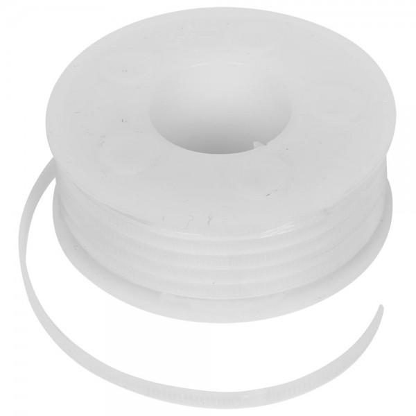 Kabelband für Kabelbinderpistole, BIS STARLOCK -weiß