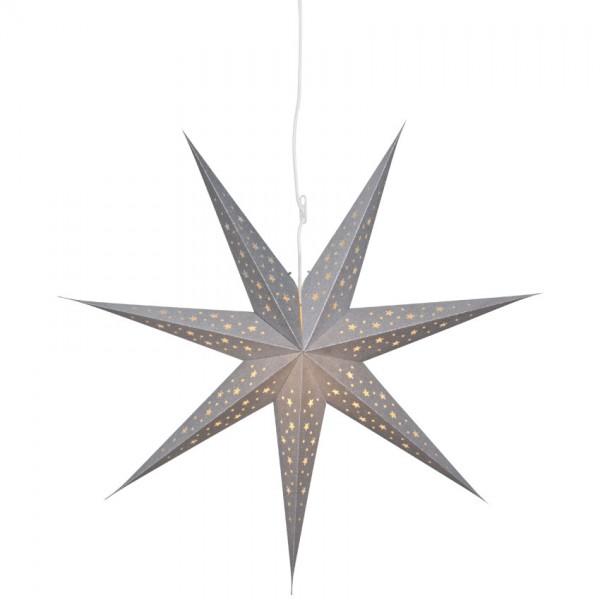 Weihnachts-Hängestern, SOLVALLA, Ø 75cm, 1 x E14/25W
