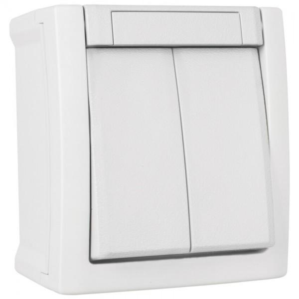 Panasonic® - AP/FR - PACIFIC - weiß - Serien-Schalter