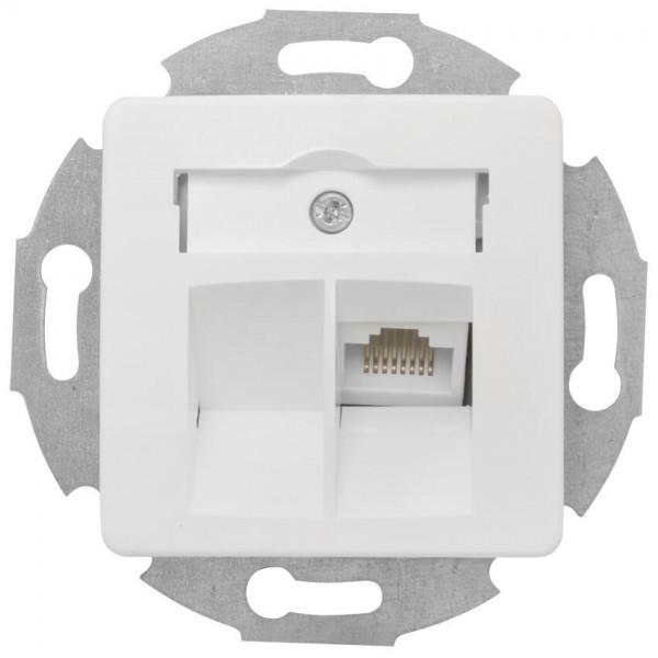 KLEIN®-SI - Telefondosen-Einsatz UAE 8 reinweiß