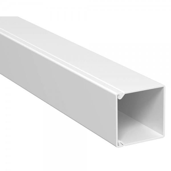 OBO® - 30m, Wand- und Deckenkanal, 25x25mm, WDK, reinweiß (RAL9010), Länge 2 m-WDK 25025RW
