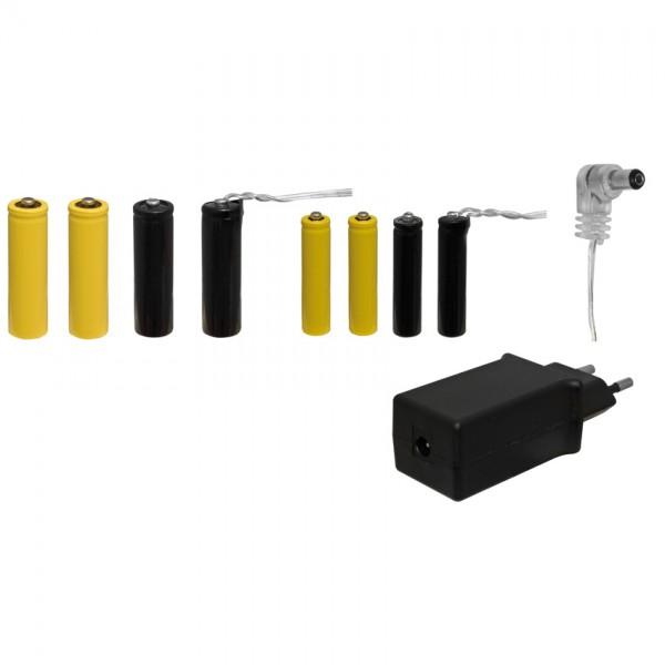 Umrüstsatz auf Netzbetrieb für Batteriefächer