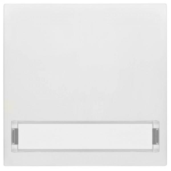 Panasonic® - Wippe, für Taster, mit Beschriftungsfeld, MERIDIAN, reinweiß
