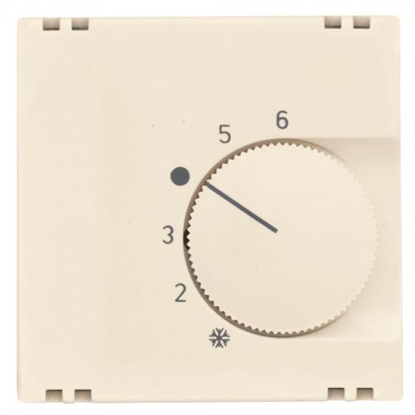 KLEIN® - Zentralplatte, für Raumthermostat-Einsatz, Zentralplatte 55 x 55 mm, KLEIN® K55, weiß