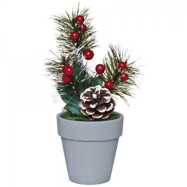 Weihnachtsbäumchen, H19cm, Ø 8cm