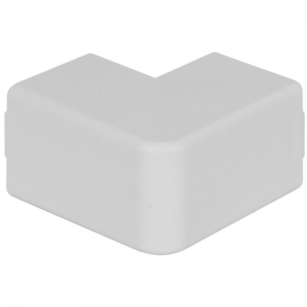 OBO® - Außeneckhaube, 30x30mm, WDK, reinweiß (RAL 9010)-WDK HA30030RW