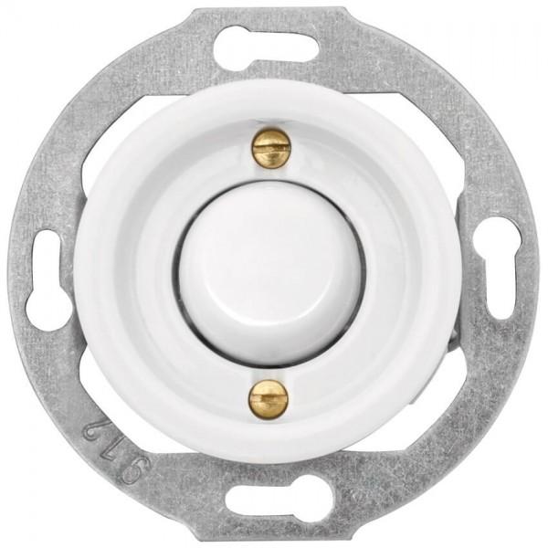 THPG Thomas Hoof - Kombi-UP-Einsatz, Porzellan weiß - Wipp-Kreuz-Schalter