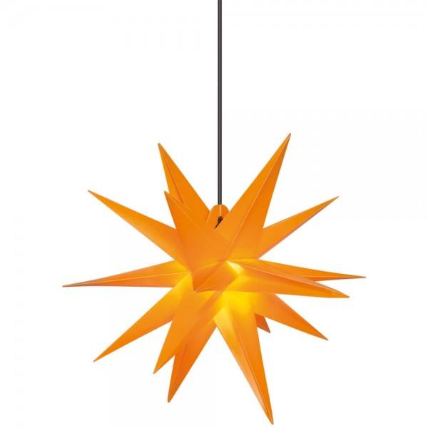 Weihnachtsstern, gelb ,Ø65cm, 1 x E14/15W