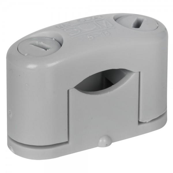 SOM-Kabelschelle, grau, halogenfrei-6 - 16 mm