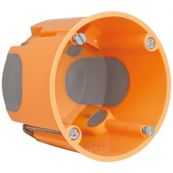 Hohlraum-Schalterdose, H61mm, 25Stück, winddicht
