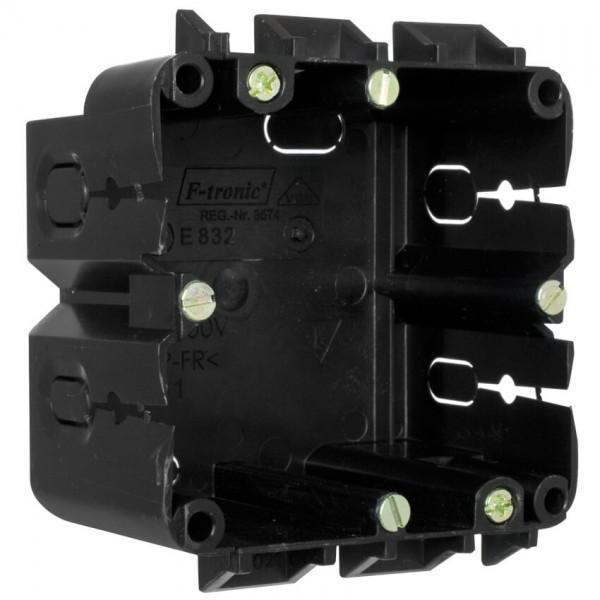 ftronic® - Geräteeinbaudose für Kanäle von Licatec®-1-fach