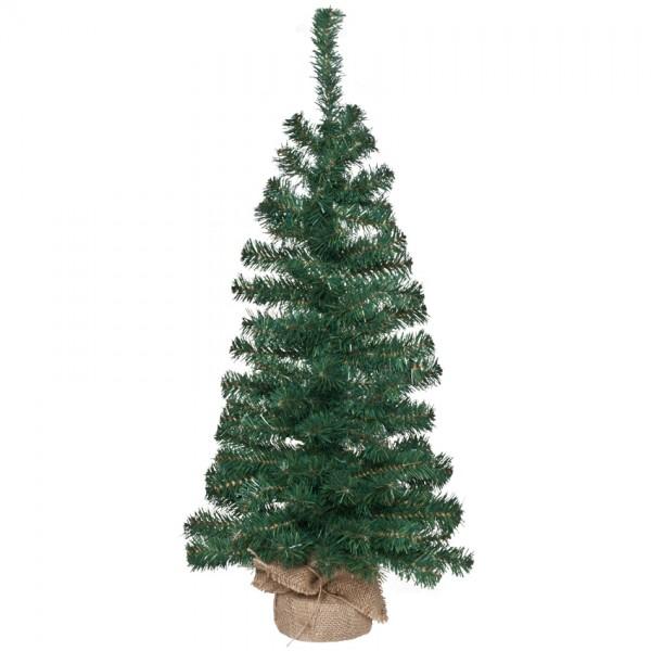 Weihnachtsbäumchen mit Standfuß, H 80cm, Ø 35cm