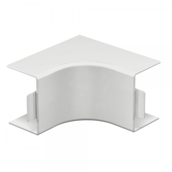 OBO® - Inneneckhaube, 40x60mm, WDK, reinweiß (RAL9010)-WDK HI40060RW