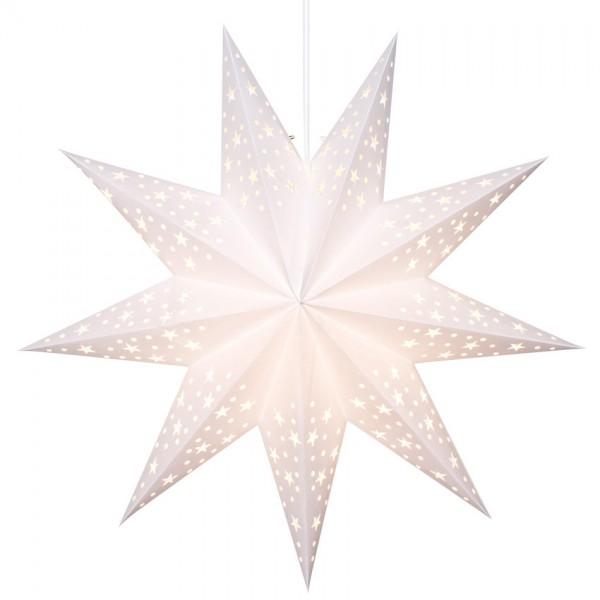 Weihnachtsstern, Ø 45cm, SOLVALLA, 1 x E14/25W