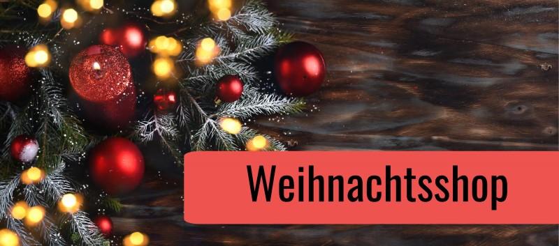 Unser Weihnachtsshop - Jetzt einkaufen!