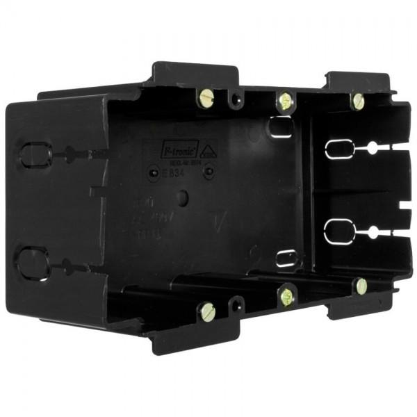 ftronic® - Geräteeinbaudose für Kanäle von Gewiss®, Rehau®, Licatec® -2-fach