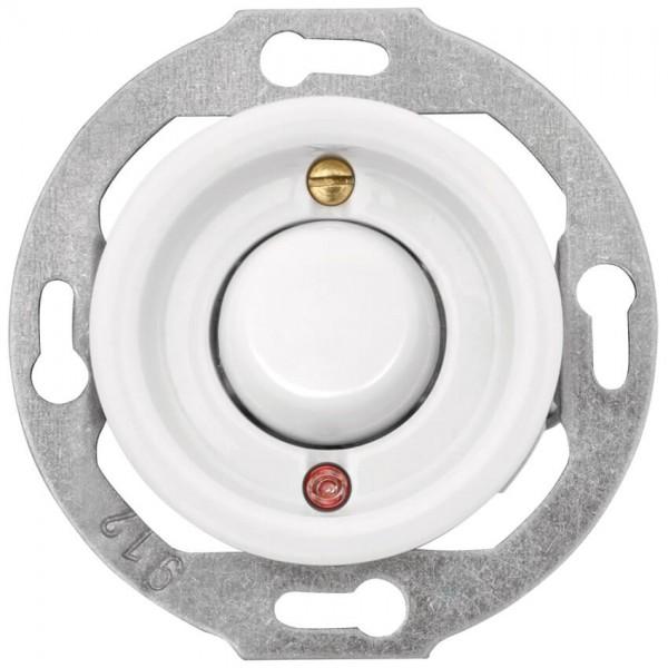 THPG Thomas Hoof - Kombi-UP-Einsatz, Porzellan weiß - Wipp-Kontroll/Wechsel-Schalter