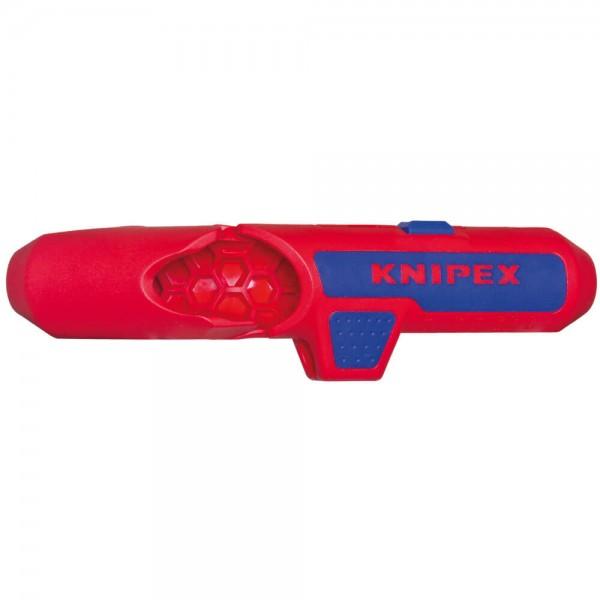 KNIPEX® - Entmantler und Abisolierer, ErgoStrip, 4 in 1-169502SB